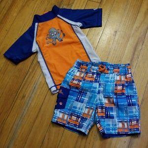 UV SKINZ Baby Boy Swim Suit